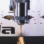 CNC Laser Metal Cutting